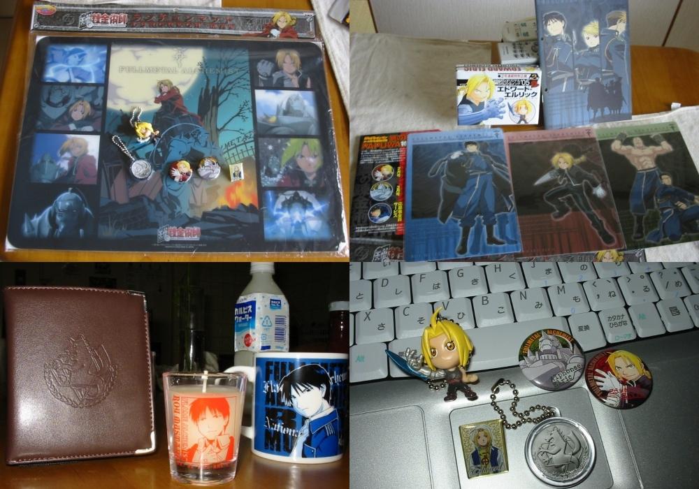 Fullmetal Alchemist - goodies