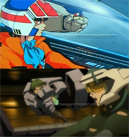 Macross vs Macross Frontier