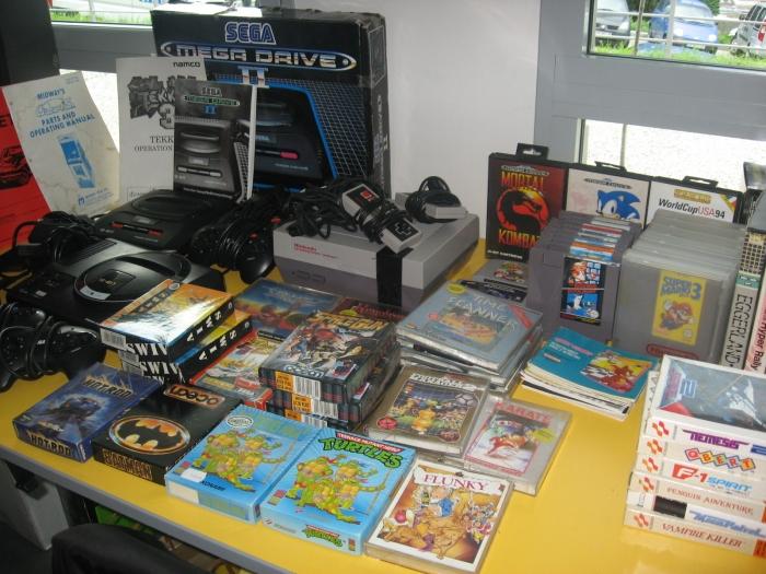 Collection de vieux jeux !
