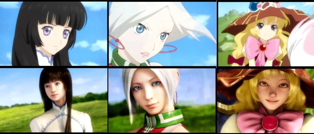 Tales of Hearts - 3D vs 2D