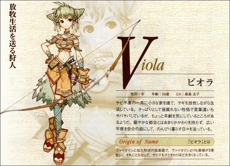 Eternal Sonata - Viola
