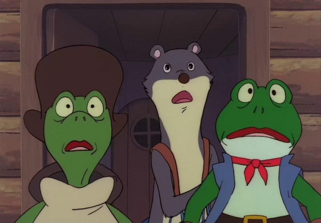 Tutti (タッティ), Otto (オッター, Otter) et Fiacre (フローク, Floak/Froak)