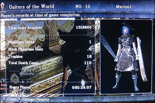 Demon's Souls -Stats
