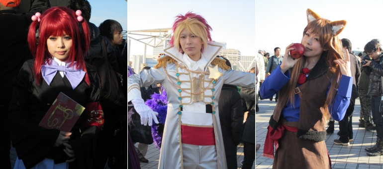 Comiket 79 - cosplay