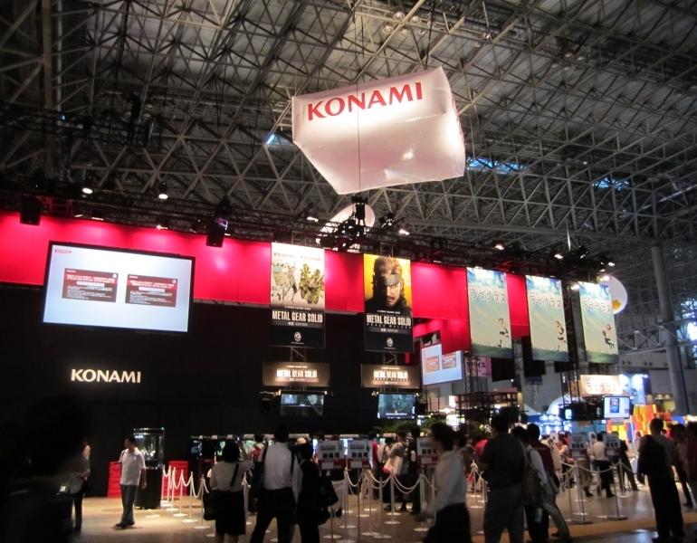 TGS 2011 - Konami