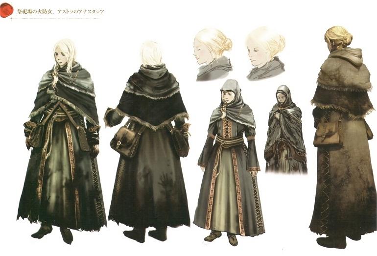 Dark Souls - Concept Art - Anastacia