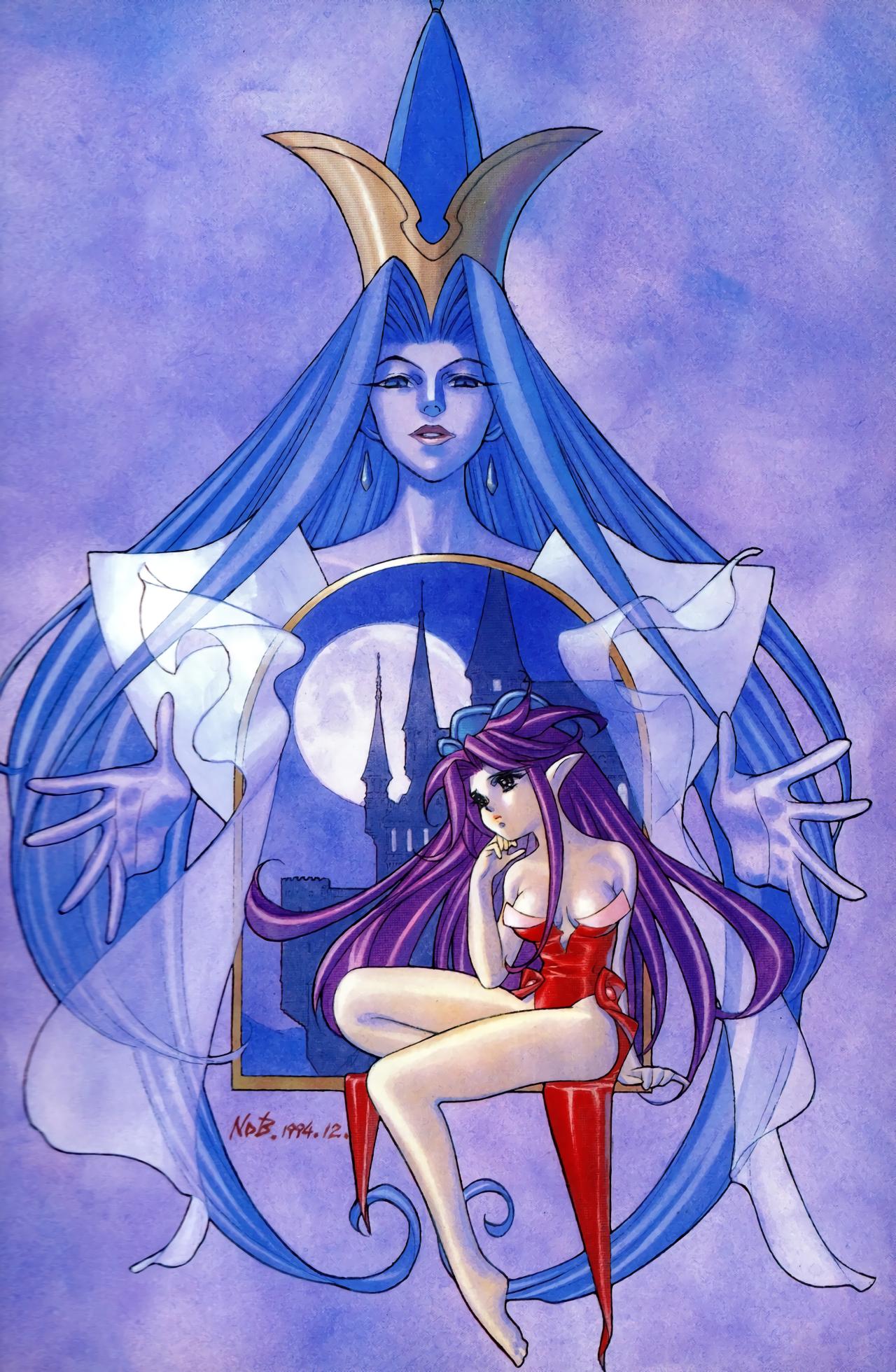 Seiken Densetsu 3 Illustration Book - Angela