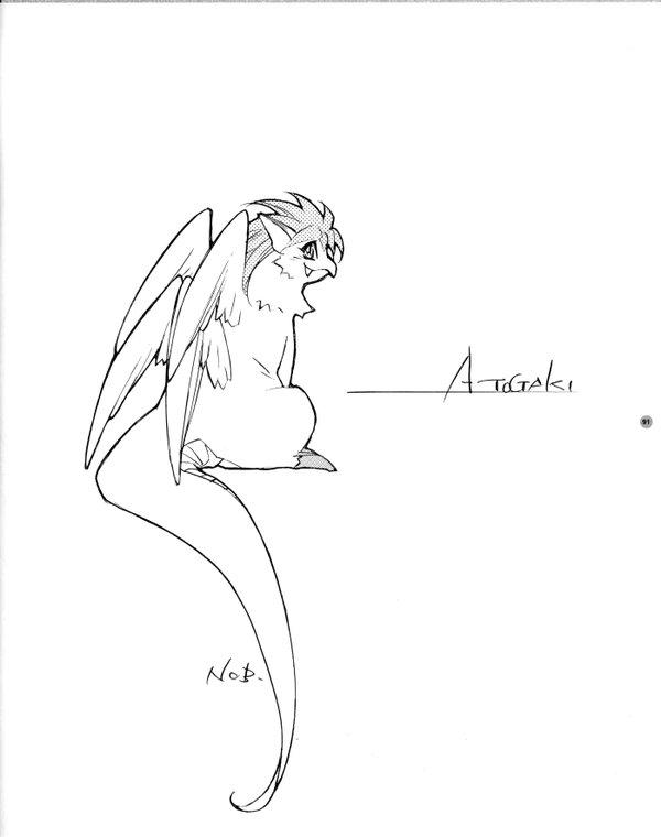 Seiken Densetsu 3 Illustration Book - Flamy - Nobuteru Yuuki