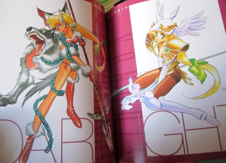 Seiken Densetsu 3 Illustration Book - Riesz