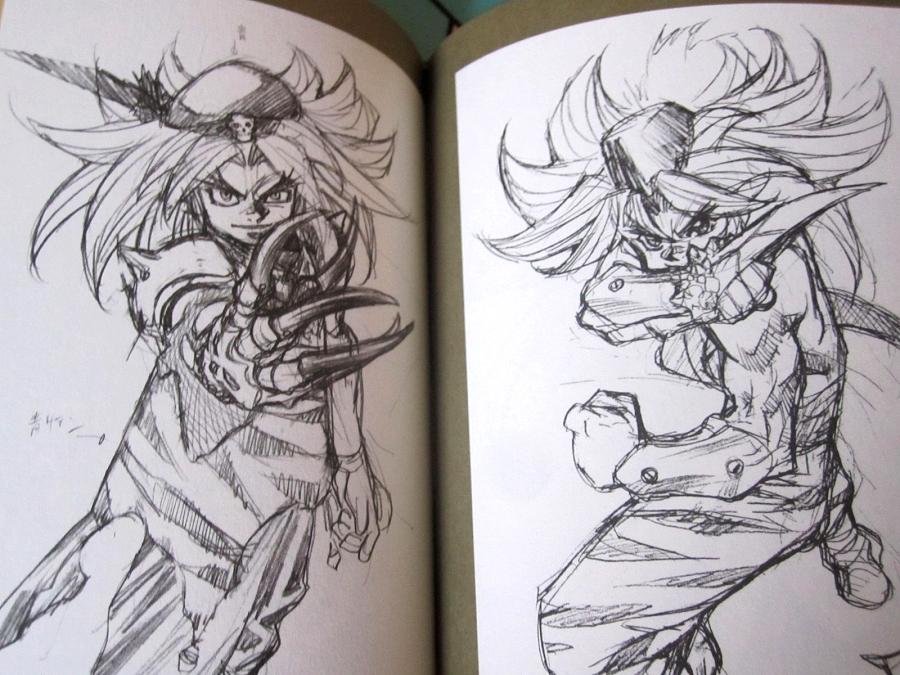 Seiken Densetsu 3 Illustration Book - Kevin