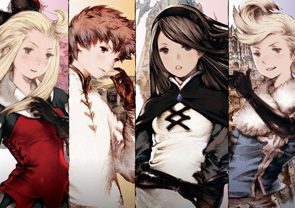 Bravely Default Flying Fairy - personnages