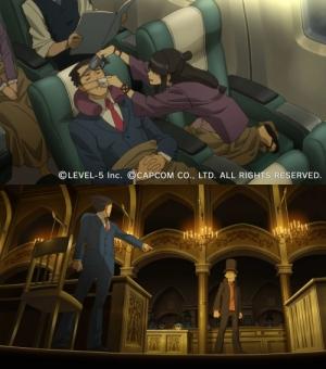 Professor Layton VS Ace Attorney - Bones