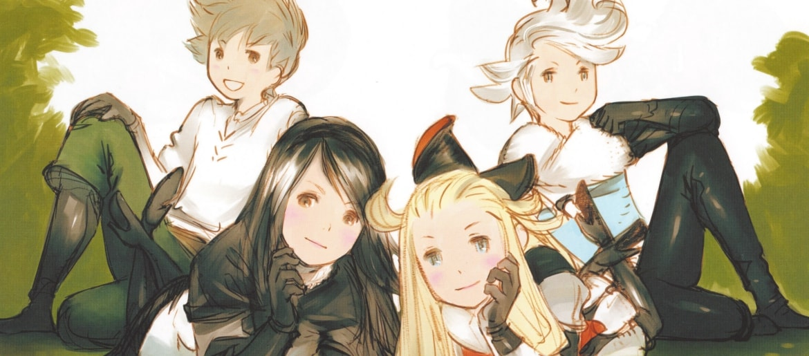 Bravely Default Design Works : The Art of Bravely