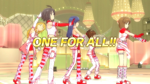 Idolm@ster : One For All - LIVE