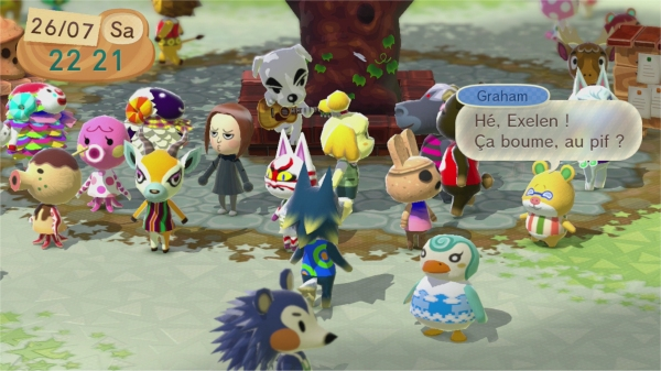 Animal Crossing Wii U