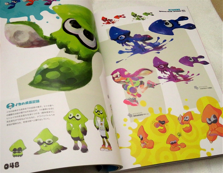 Splatoon Artbook