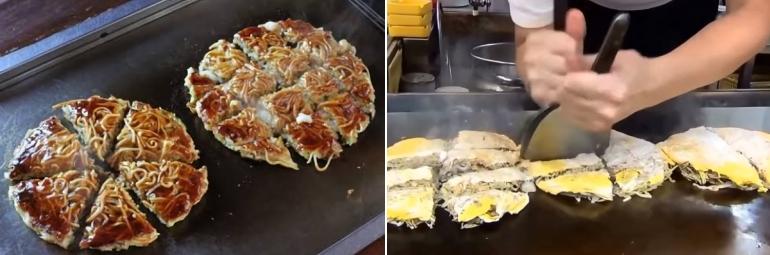 Okonomiyaki dans la vraie vie !