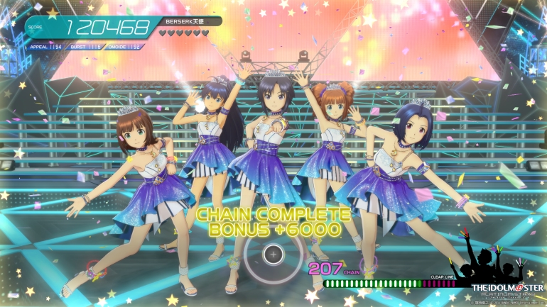The Idolm@ster Platinum Stars - chain complete