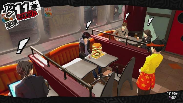 Persona 5 - Burger