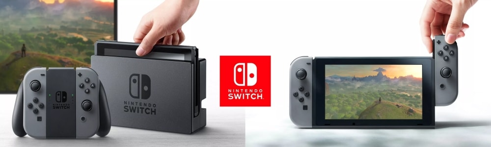 JV 2016 - 2017 - Nintendo Switch