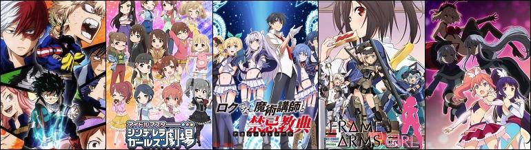 Anime du Printemps 2017 - pas vu pas pris, 1