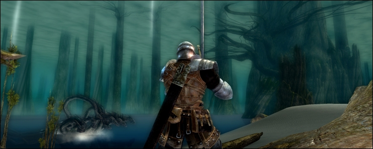 Lac Cendré / Ash Lake (Dark Souls)