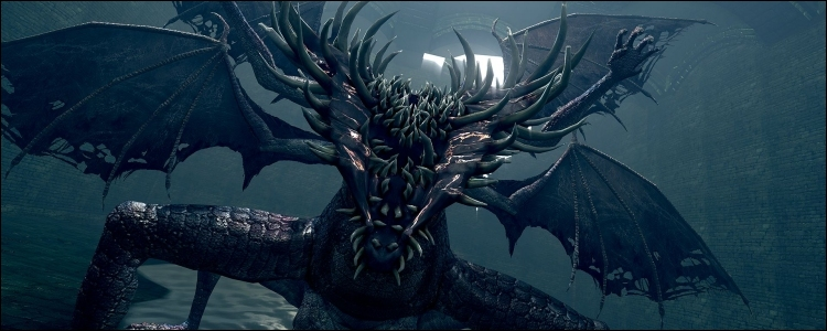 Dragon béant / Gaping Dragon (Dark Souls)