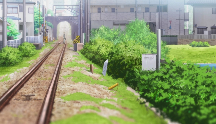 Tsuki ga Kirei - background