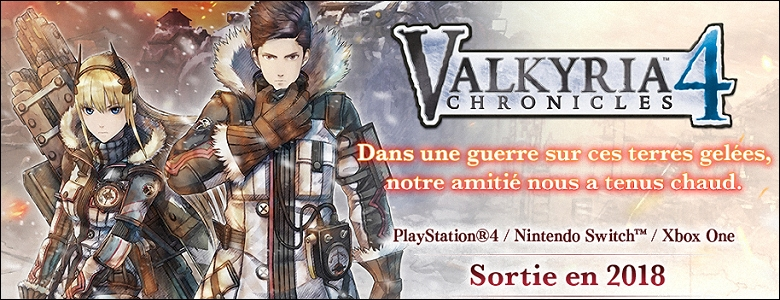 2018 - Valkyria Chronicles 4